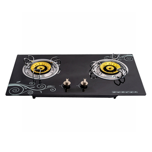BUILT-IN GLASS GAS STOVE