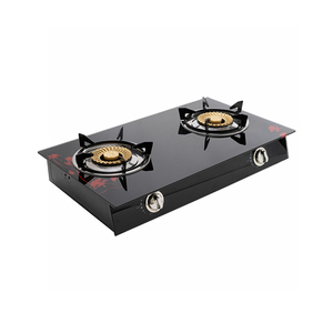 TEMPERED GLASS DOUBLE BURNERS