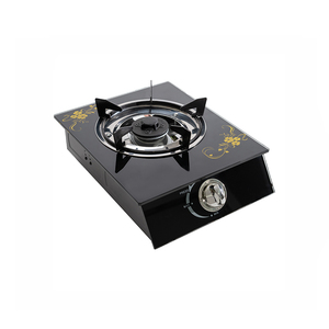 TEMPERED GLASS SINGLE BURNER